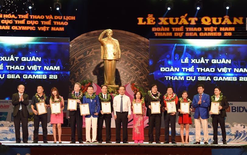 Tập đoàn Thể thao Động Lực xin chúc Đoàn TTVN thi đấu thành công, đem vinh quang về cho Tổ quốc.