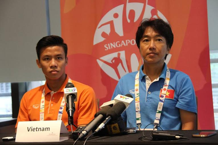 HLV Miura tỏ ra khá tôn trọng U23 Myanmar