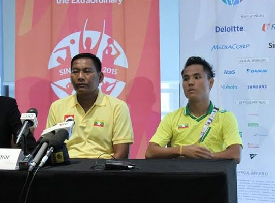 HLV Kyi Lwin tự tin về cơ hội chiến thắng của U23 Myanmar