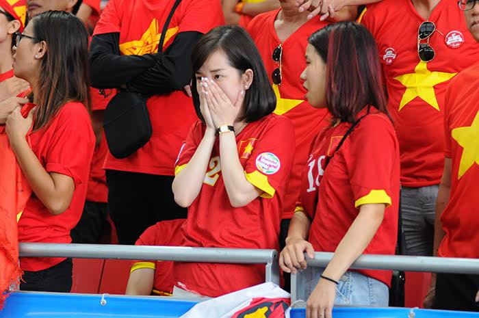 Tất cả đều thất vọng khi U23 Việt Nam không thể có mặt ở chung kết
