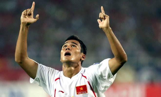 Tiền đạo Phan Thanh Bình từng tam dự bốn kỳ SEA Games