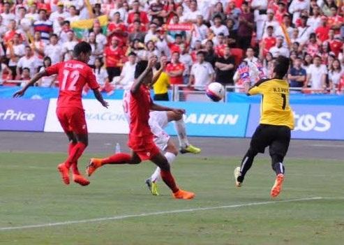 U23 Việt Nam chơi có phần áp đảo hơn hẳn ở 15 phút đầu