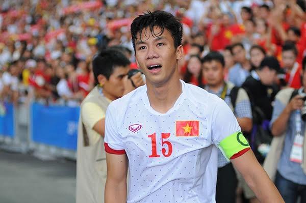 Thủ quân U23 Việt Nam đã không kiêm được giọt nước mắt tiếc nuối
