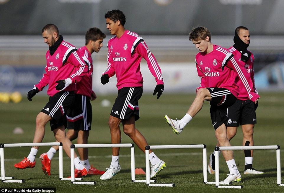 Tân binh người Na Uy đã có buổi tập đầu tiên cùng Real Madrid