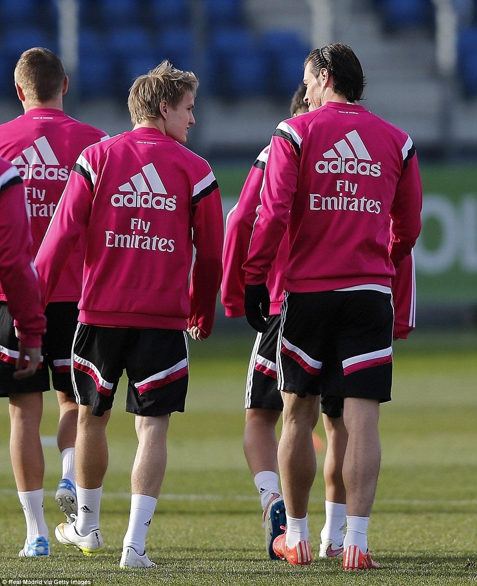 Odegaard và Bale được chú ý khá nhiều nhờ tốc độ
