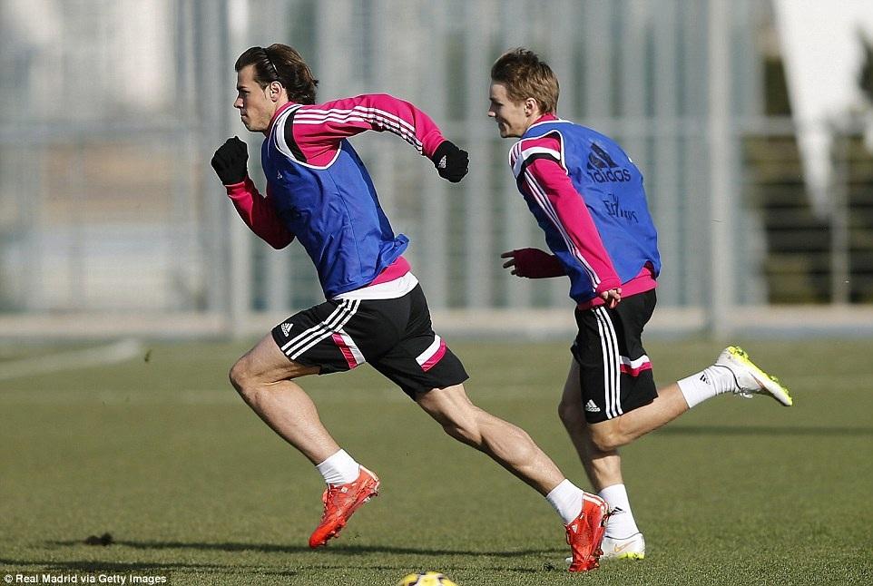 Odegaard thể hiện tốc độ không hề thua kém Gareth Bale