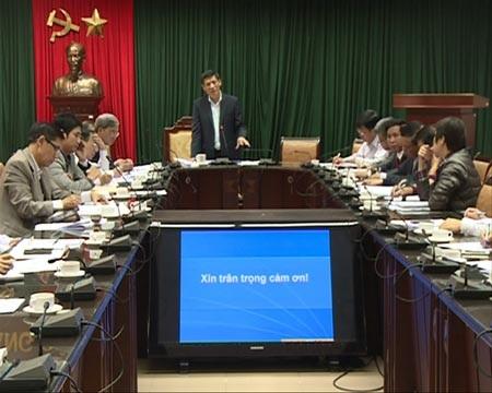 Thứ trưởng Bộ Y tế Nguyễn Thanh Long tổng kết cuộc họp về phòng chống dịch hạch