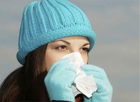 Cảm lạnh là bệnh rất phổ biến trong mùa đông