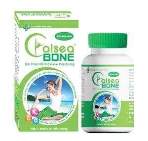 Thực phẩm chức năng Calsea Bone bổ sung canxi thiên nhiên   có nguồn gốc từ tảo biển Nam Mỹ.
