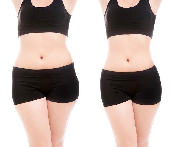 Chỉ sau một lần điều trị, mỡ thừa ở vòng eo đã được xóa bỏ đến gần 95%.