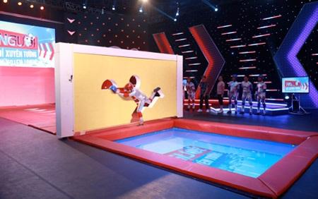 Gameshow vận động: Thực đơn mới cho truyền hình 2015