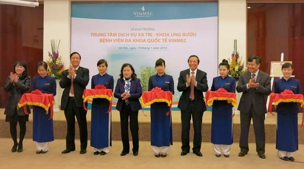 Khai trương Trung tâm dịch vụ xạ trị hiện đại hàng đầu Việt Nam