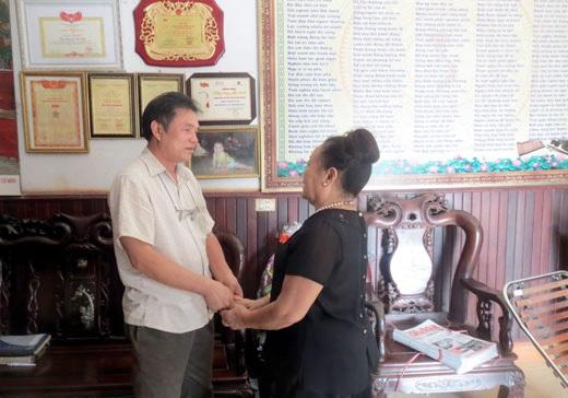 Gia đình PGS Văn Như Cương cảm tạ thầy lang Nguyễn Bá Nho