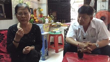 Gia đình bệnh nhân Trần Thành Nam thuật lại sự việc (Ảnh: Tiền phong)