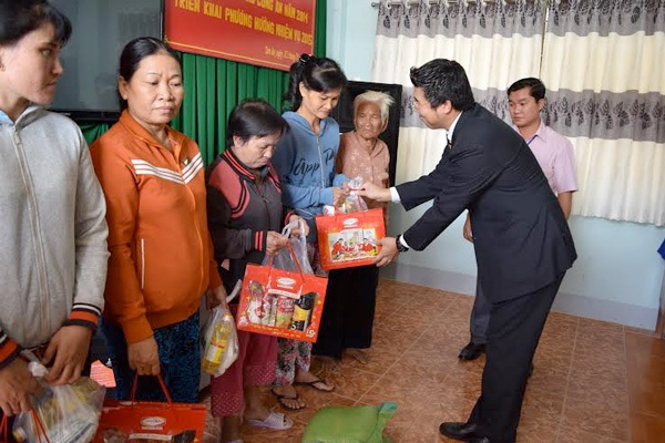 Cùng Ajinomoto Việt Nam chia sẻ yêu thương
