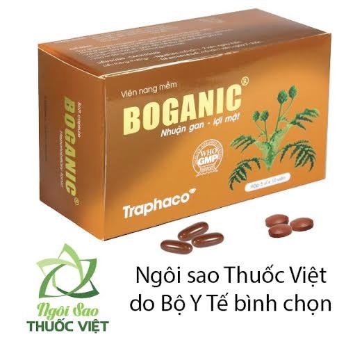 """Boganic của Traphaco đã được   bình chọn là """"Ngôi sao thuốc Việt"""""""