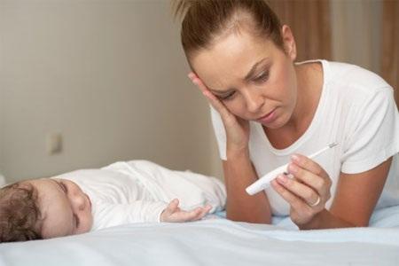 Tránh sai lầm khi con bị cảm cúm