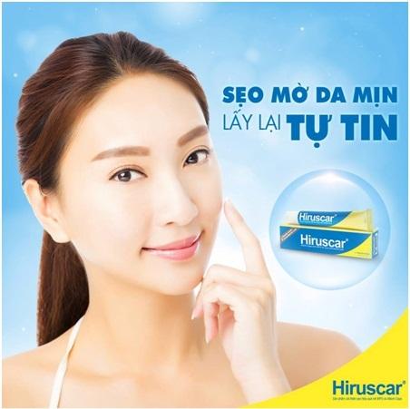 Hiruscar là sản phẩm làm mờ sẹo được khá nhiều phụ nữ tin dùng hiện nay.