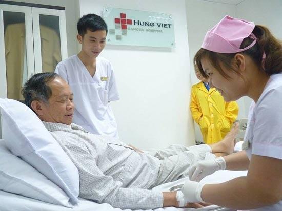 Một ca điều trị Ung thư tại Bệnh viện Ung bướu Hưng Việt