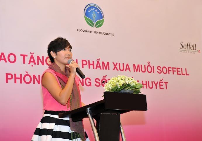 Bà Carol Lai (Quản lý thương hiệu Soffell toàn vùng, tập đoàn Enesis)