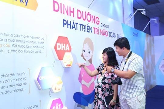 DHA - Món quà đầu tiên mẹ dành tặng thai nhi