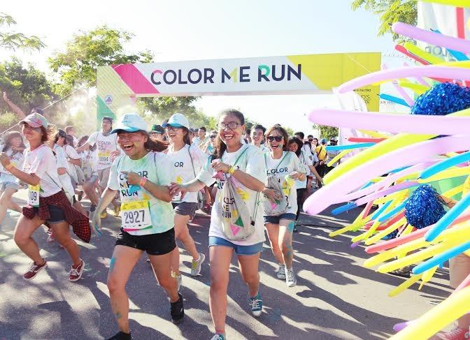 Một mùa hè khó quên với Color Me Run Đà Nẵng