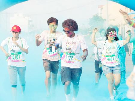 Các bạn có thể đăng ký tham gia Color Me Run Đà Nẵng tại