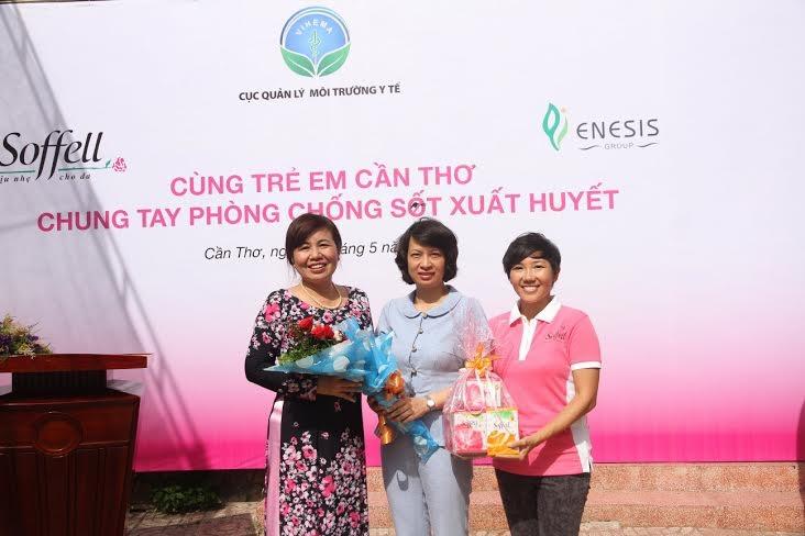 Học sinh trường Hưng Lợi 2 (quận Ninh Kiều, Tp.Cần Thơ) tham gia sự kiện
