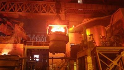 Nhà máy sản xuất thép từ bùn đỏ