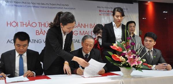 Hợp tác thương mại điện tử là xu hướng phát triển tất yếu tại Việt Nam.