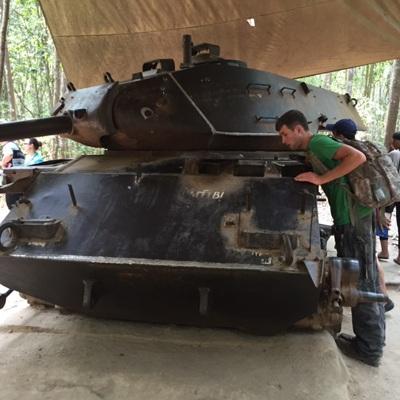 Xe tăng quânđội Mỹ bị phá hủy khi tham chiếnở vùngđất thép.