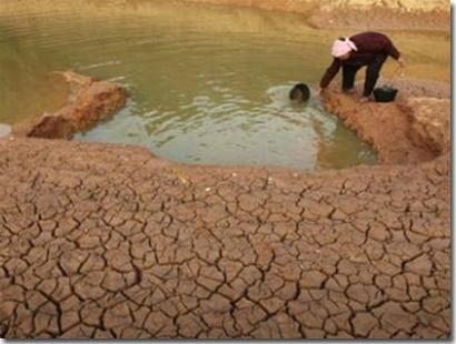 Miền Trung và Tây Nguyên khô hạn nghiêm trọng.