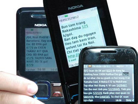 Rất khó để các nhà mạng chặn tin nhắn rác triệtđể. (Ảnh minh họa)