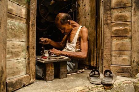 Thợ in - Soumya Shankar Ghosal (Ấn Độ)