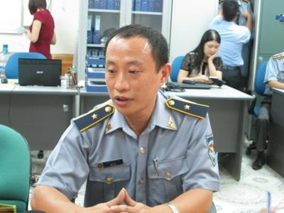 Ông Hà Lê, Phó Cục trưởng Cục Kiểm ngư (Bộ NN&PTNT) trao đổi với báo chí (Ảnh: T.N)