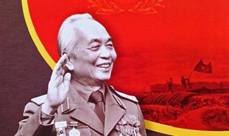 Đại tướng Võ Nguyên Giáp đươợc ví như Ngọn núi lửa phủ tuyết