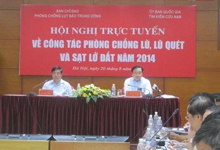 Phó Thủ tướng Hoàng Trung Hải chủ trì Hội nghị (Ảnh N.A)