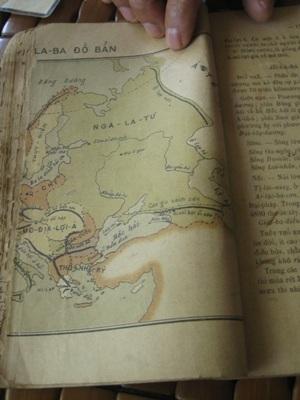 Cuốn sách địa lý được xuất bản cách đây hơn 100 năm