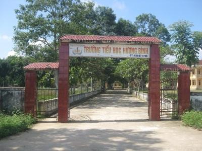 Trường Tiểu học Hương Bình.
