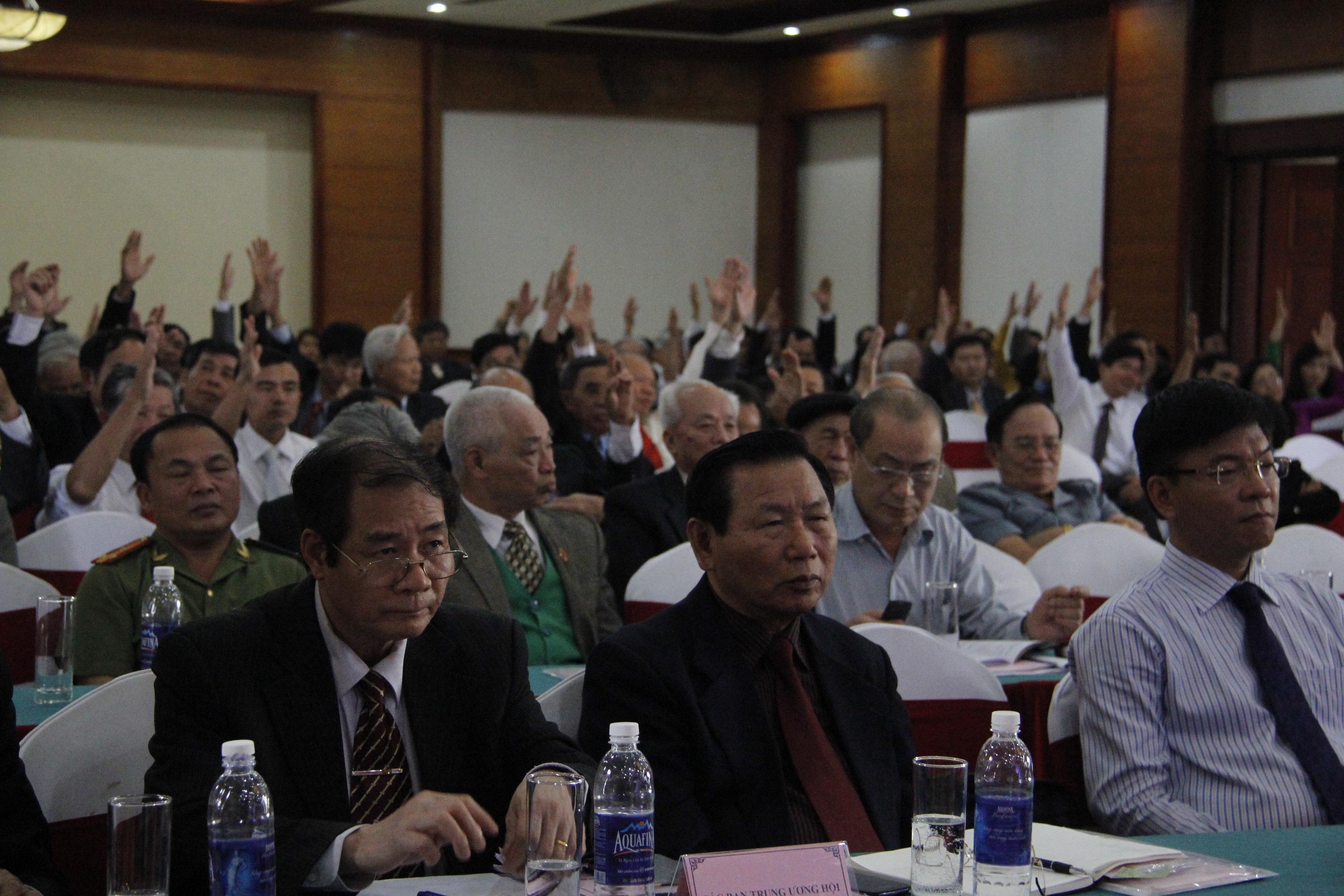 Quang cảnh đại hội Khuyến học Hà Tĩnh khóa IV
