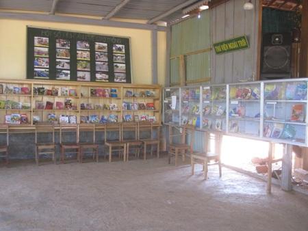 Thư viện của các em học sinh