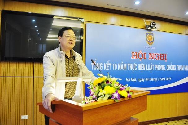 Ông Phạm Trọng Đạt - Cục trưởng Cục Chống tham nhũng (Ảnh: Thanh tra Chính phủ).