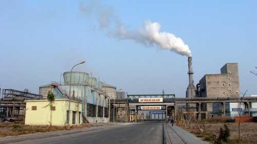 Nhà máy DAP Đình Vũ (Ảnh: Vietnamnet)