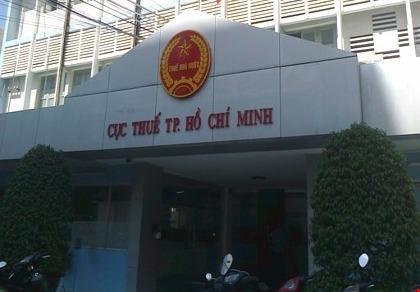 Trụ sở Cục Thuế TPHCM (Ảnh: Pháp luật TPHCM)
