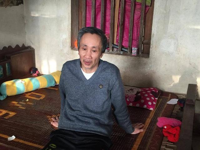 Tử tù Hàn Đức Long đã được tại ngoại về với gia đình (Ảnh: Bá Đoàn)