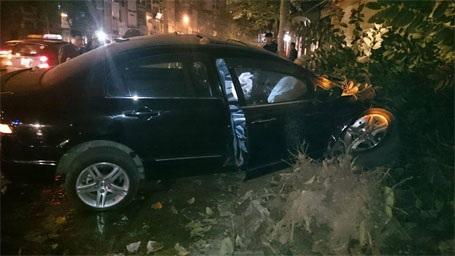 Hiện trường vụ tai nạn (ảnh CTV)
