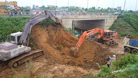 Sự cố vỡ ống lần thứ 9 xảy ra hồi giữa tháng 7/2014.