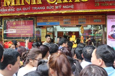 1 số tiệm vàng còn tổ chức quay số trúng thưởng cho khách hàng trong ngày Vía Thần Tài