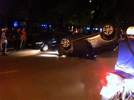 Hiện trường vụ tai nạn (ảnh CTV cung cấp)