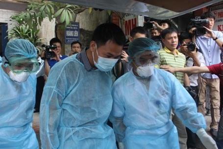 Bệnh nhân được chuyển đến Bệnh viện Bắc Thăng Long